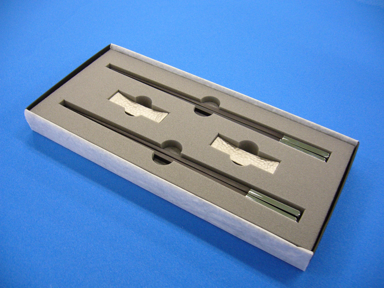 箸箱緩衝材量産